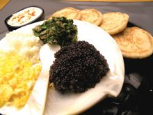 Blinis and Caviar